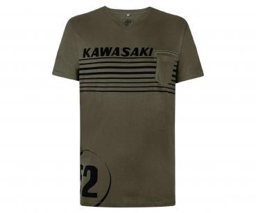 Kawasaki 52 T-Shirt kurzarm dunkelgrün