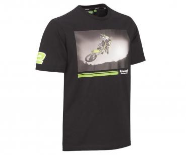 Kawasaki T-Shirt KRT Ryan Villopoto schwarz