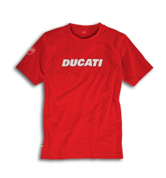 Ducati Graphic T-Shirt Ducatiana Rot
