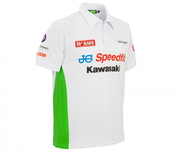 Ausverkauf modisches und attraktives Paket Entdecken Alex's Bikeshop - Kawasaki BSB Poloshirt Herren
