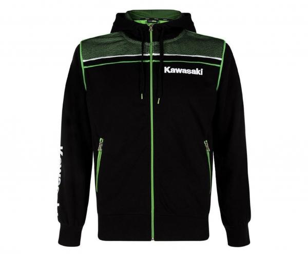 Kawasaki Sports Kapuzensweatshirt Hoody Herren schwarz