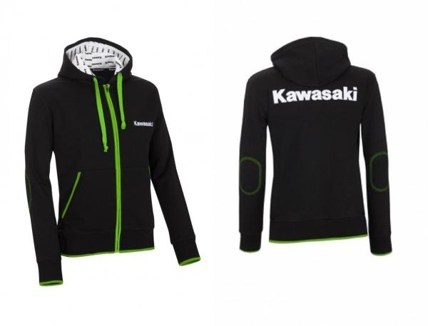 Kawasaki Sports Kaputzen Sweatshirt Alex's Bikeshop